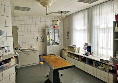 Röntgenraum der Tierarztpraxis Dres. Mäusl in